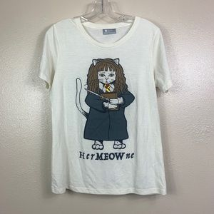 Her meow ne fuego Harry Potter T-shirt